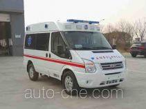 凯福莱牌NBC5043XJH06型救护车