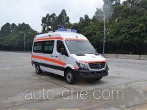 北地牌ND5040XJH-3H型救护车