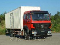 Beiben North Benz ND5160XXYZ01 box van truck