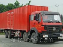 Beiben North Benz ND5310XXYZ07 фургон (автофургон)