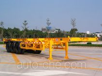 Mingwei (Guangdong) NHG9400TWYA dangerous goods tank container skeletal trailer