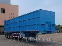 Garbage compactor trailer