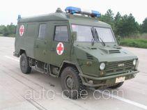 依维柯牌NJ2046XJHS型依维柯越野救护车