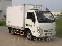 畅达牌NJ5020XLC5型冷藏车