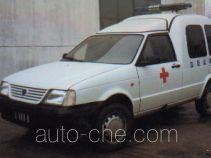 Yuejin NJ5020XXJ blood plasma transport medical car