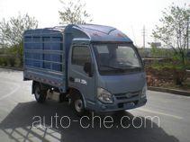 Yuejin NJ5022CCYPBMBNZ грузовик с решетчатым тент-каркасом