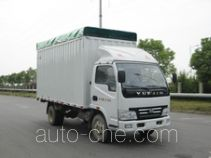 Yuejin soft top box van truck