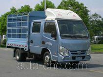 Yuejin NJ5032CCYPBGBNS грузовик с решетчатым тент-каркасом