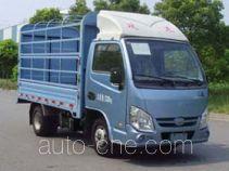 Yuejin NJ5032CCYPBGBNZ грузовик с решетчатым тент-каркасом