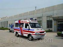 畅达牌NJ5037XJHN2型救护车