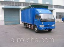 Yuejin NJ5040CPYDCFT5 soft top box van truck