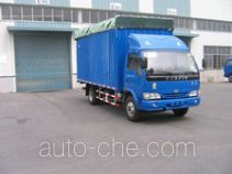 Yuejin NJ5040P-HDF soft top box van truck