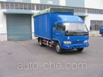 Yuejin NJ5040P-HDFW soft top box van truck