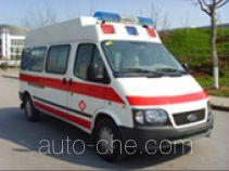 畅达牌NJ5040XJH3-M型医疗救护车