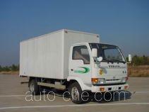 Yuejin NJ5040XXY-FDA box van truck