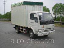 Yuejin NJ5041CPYDBCT5 soft top box van truck