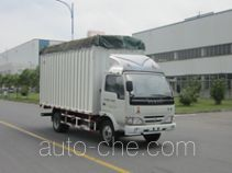 Yuejin NJ5041CPYDBFT5 soft top box van truck