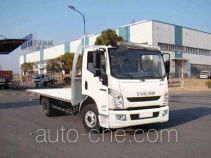 Yuejin NJ5041TPBZFDCWZ flatbed truck