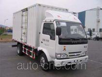 Yuejin NJ5041XXYHFBNZ box van truck