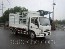 Yuejin NJ5042CCYZFDCMZ грузовик с решетчатым тент-каркасом