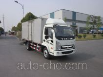 Yuejin NJ2042XXYKFDCMZ cross-country box van truck