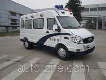 依维柯牌NJ5045XQCD2D型囚车