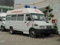 畅达牌NJ5046XJH8型医疗救护车