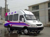 畅达牌NJ5046XXCN2型宣传车