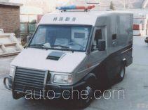 依维柯牌NJ5047XYCF2型依维柯防弹运钞车