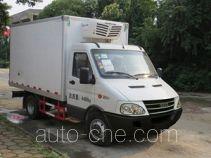 畅达牌NJ5048XLC4B型冷藏车