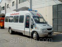 畅达牌NJ5058XJH型医疗救护车