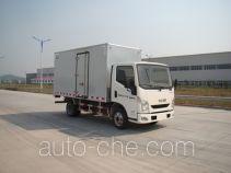 Yuejin NJ5061XXYZFDCNZ box van truck