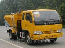 畅达牌NJ5071ZZLJ型自装卸式垃圾车