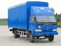 Yuejin NJ5080P-DBL soft top box van truck