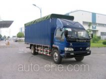 Yuejin NJ5080P-DCMZ soft top box van truck