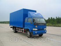 Yuejin NJ5080XXY-DBLW2 box van truck