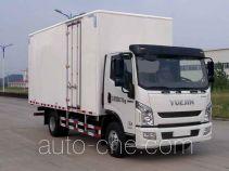 Yuejin NJ5082XXYZHDCWZ box van truck