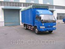 Yuejin NJ5120P-DCJZ soft top box van truck