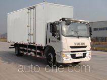 Yuejin NJ5162XXYZQDDWZ box van truck