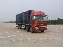 Lingye NJ5310XXY-DFUW box van truck