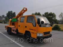 Luxin NJJ5063TQX guardrail and fence repair truck