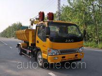 Luxin NJJ5090ZZDLJ grab garbage truck