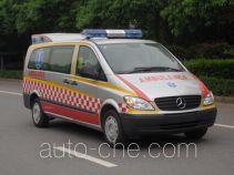 雨花牌NJK5030XJH型救护车