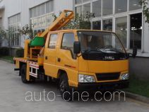 Yuhua NJK5061TQX guardrail and fence repair truck