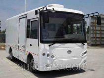 开沃牌NJL5073XXYBEV2型纯电动厢式运输车