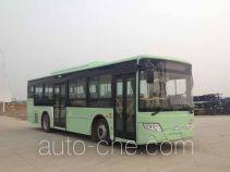 开沃牌NJL6109HEV1型混合动力城市客车