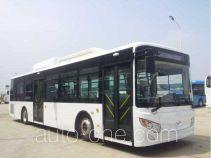 开沃牌NJL6129HEVN1型混合动力城市客车