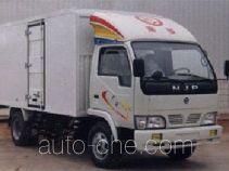 CNJ Nanjun NJP5030XXYE1 box van truck