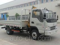 南骏牌NJP5040JSQZD33M型随车起重运输车