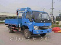 CNJ Nanjun NJP5100JSQPP38MS truck mounted loader crane